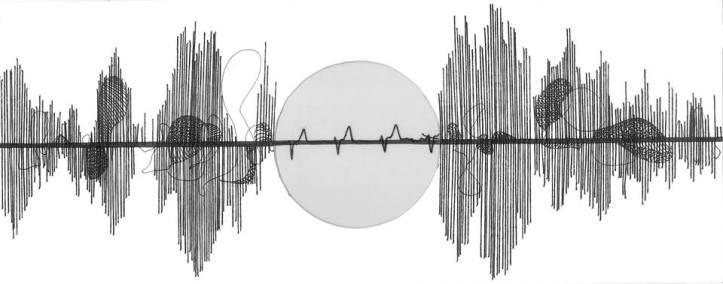 Volume Array,33x13cm, mixed media on paper(2015)